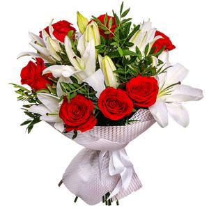 цветы ко дню матери Дуэт