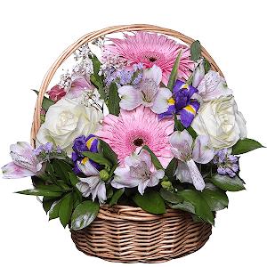Райский сад +30% цветов с доставкой в Сергиевом Посаде