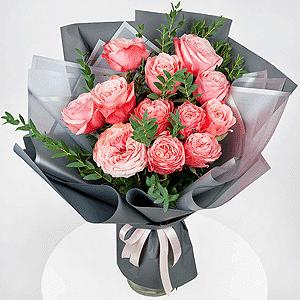 Бизнес-букет +30% цветов с доставкой в Сергиевом Посаде