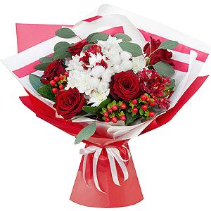 Восхищение +30% цветов с доставкой в Сергиевом Посаде