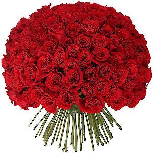 Букет из 101 красной розы с доставкой в Сергиевом Посаде