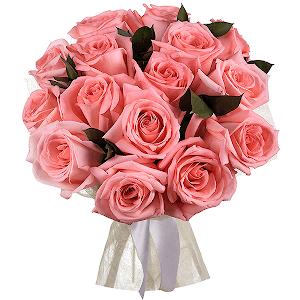 Букет из 15 розовых роз с доставкой в Сергиевом Посаде