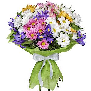 """цветы ко дню матери Букет """"Самой лучшей маме!"""""""