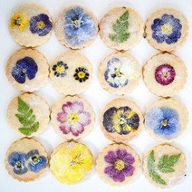 Как сделать цветочное печенье?